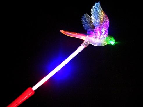 Как сделать волшебную палочку чтобы она светилась